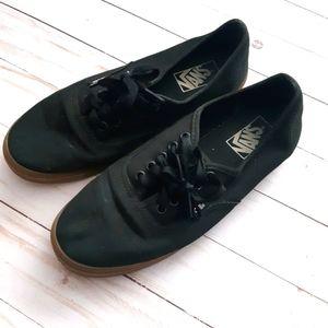 VANS Black Gumsole Authentic Lo Pro Sneakers
